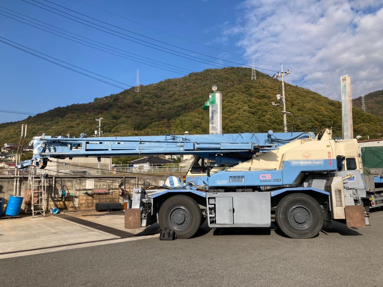 Used 25 ton rough terrain crane Tadano TR250M-6 1997
