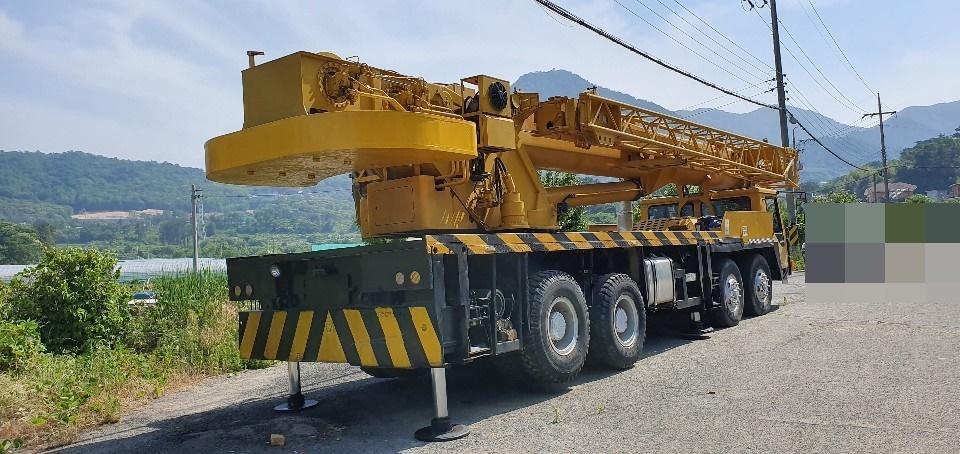Used crane Kobelco RK250, 25 ton 1993 yr from Korea