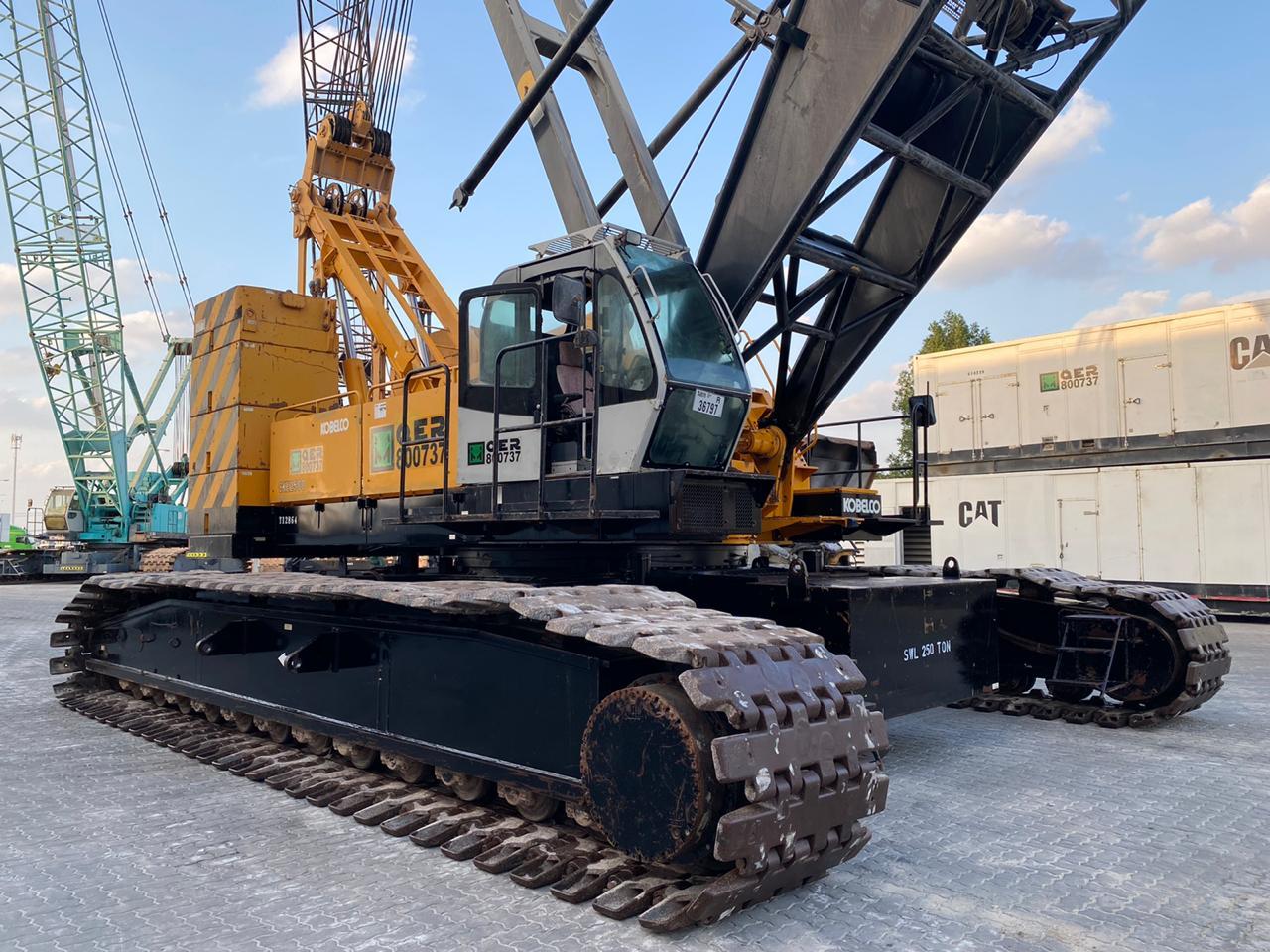 Used crawler crane 250 tons KOBELCO CKE2500